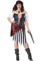 Pirate Beauty Plus Size Adult Costume