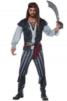 2017 New Costume Picks Scallywag Pirate Plus Size Costume