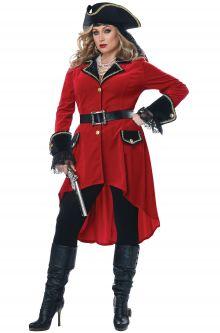 High Seas Heroine Plus Size Costume  sc 1 st  Pure Costumes & Plus Size Pirate Costumes - PureCostumes.com