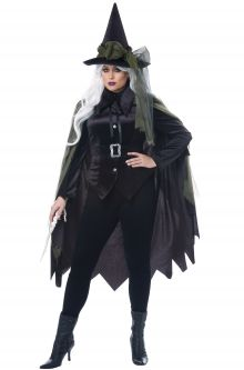 Gothic Witch Plus Size Costume  sc 1 st  Pure Costumes & Plus Size Witch Costumes - PureCostumes.com