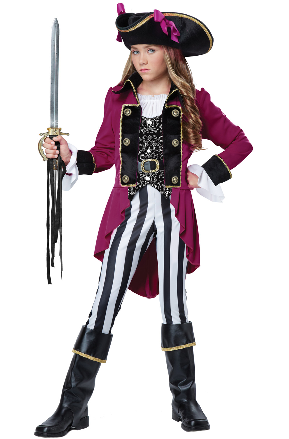 sc 1 st  Pure Costumes & Fashion Pirate Tween Costume - PureCostumes.com