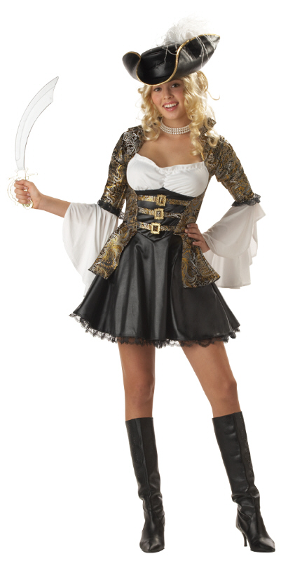 Pirate Princess Teen Costume