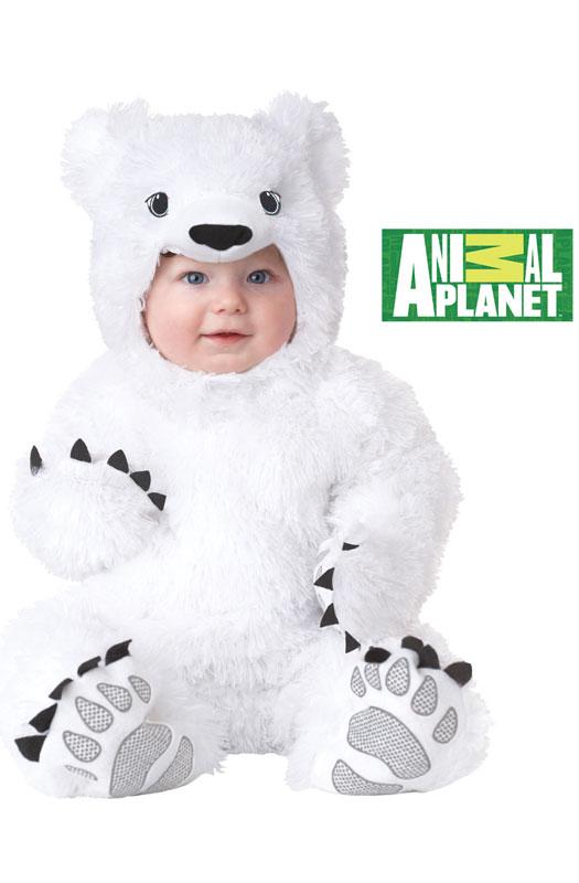 Animal Planet Polar Bear Infant Zoo Halloween Costume