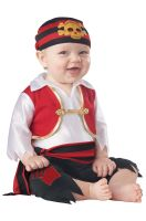 Pee Wee Pirate Infant Costume