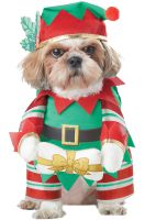 Elf Pup Pet Costume