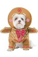 Gingerbread Pup Pet Costume