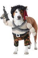 Action Hero Pet Costume