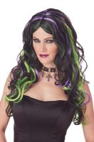 Multicolor Witch Costume Wig