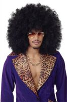 Super Jumbo Afro Costume Wig - Black