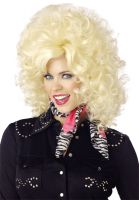 Country Western Diva Costume Wig - Blonde