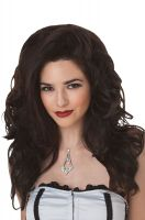 Seductress Costume Wig - Black