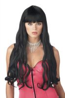 Serpentine Costume Wig - Black