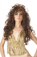 Seduction Costume Wig - Brown