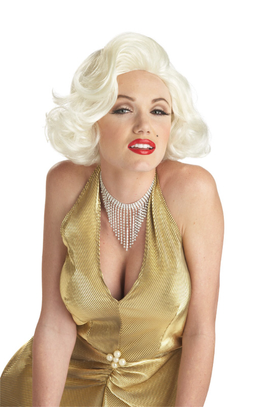 Classic Marilyn Monroe Costume Wig - Blonde  sc 1 st  Pure Costumes & Famous People Costumes - Celebrity DIY Dress-Up Ideas - PureCostumes.com