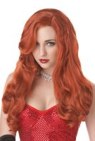 Silver Screen Sinsation Costume Wig - Red