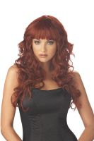 Impulse Costume Wig - Burgundy