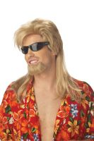 Beach Bro Costume Wig - Blonde