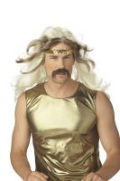 Rock Gold Costume Wig - Blonde/Brown