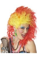 True Colors Costume Wig (Red/Yellow)