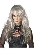 Fallen Angel Costume Wig (Grey)
