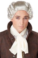 18th Century Peruke Costume Wig (Grey)