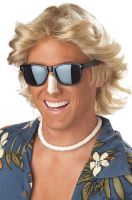 70's Feathered Hair Costume Wig (Blonde)