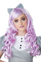 Lavender Cosplay Doll Adult Wig