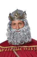 Biblical King Adult Wig and Beard