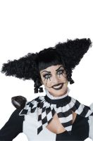 Creepy Clown Adult Wig (Black)