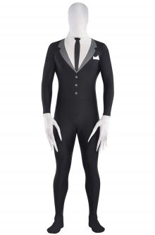 COVID-19-Appropriate costumes Slender-Man Partysuit Adult Costume