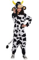 Zipster Cow Child Costume (Large)