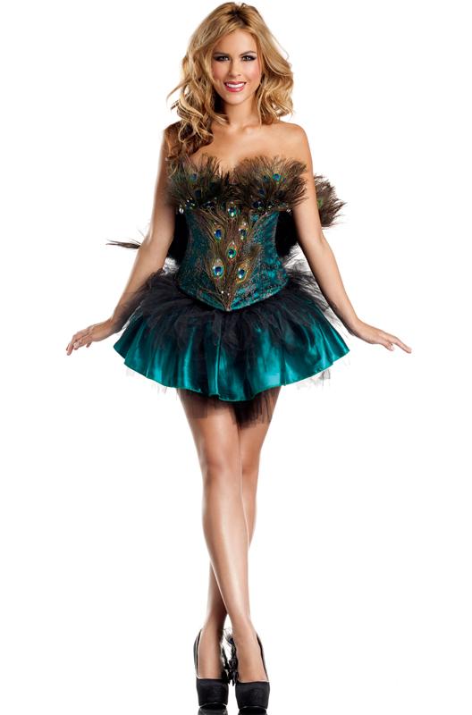 Princess Peacock Adult Costume