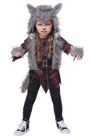 Wee-wolf Girl Toddler Costume