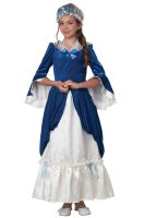 Colonial Era Dress/Martha Washington Child Costume