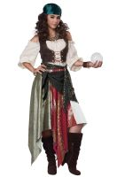 Renaissance Fortune Teller / Pirate Adult Costume