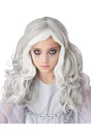 Glow in the Dark Ghost Child Wig