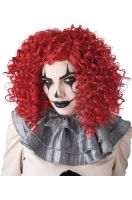 Corkscrew Clown Curls Wig (Red)