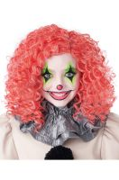 Glow in the Dark Curly Clown Wig