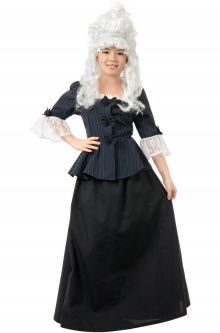 Colonial Martha Washington Child Costume