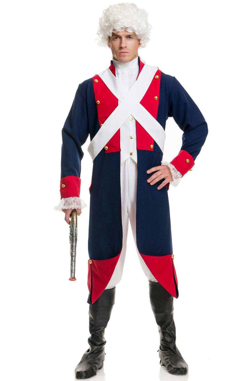 adult revolutionary general costume