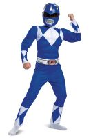 Blue Ranger Classic Muscle Child Costume