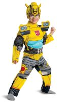 Bumblebee Eg Muscle Toddler Costume