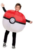 Poke Ball Inflatable Child Costume