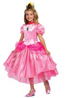 2020 Princess Peach Deluxe Child Costume
