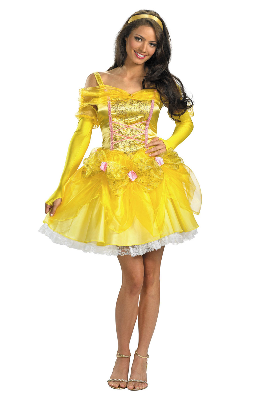 sc 1 st  Pure Costumes & Disney Princess Sassy Belle Adult Costume - PureCostumes.com
