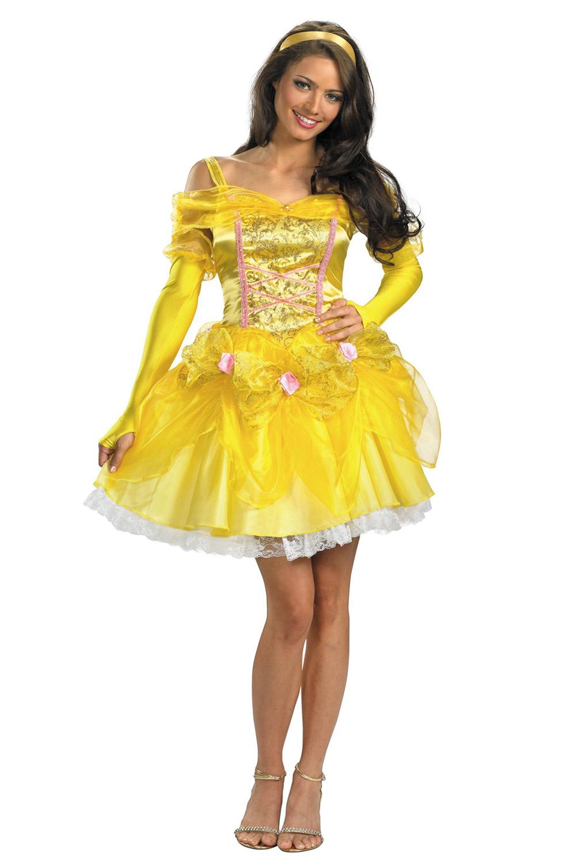 Disney Princess Sassy Belle Adult Costume