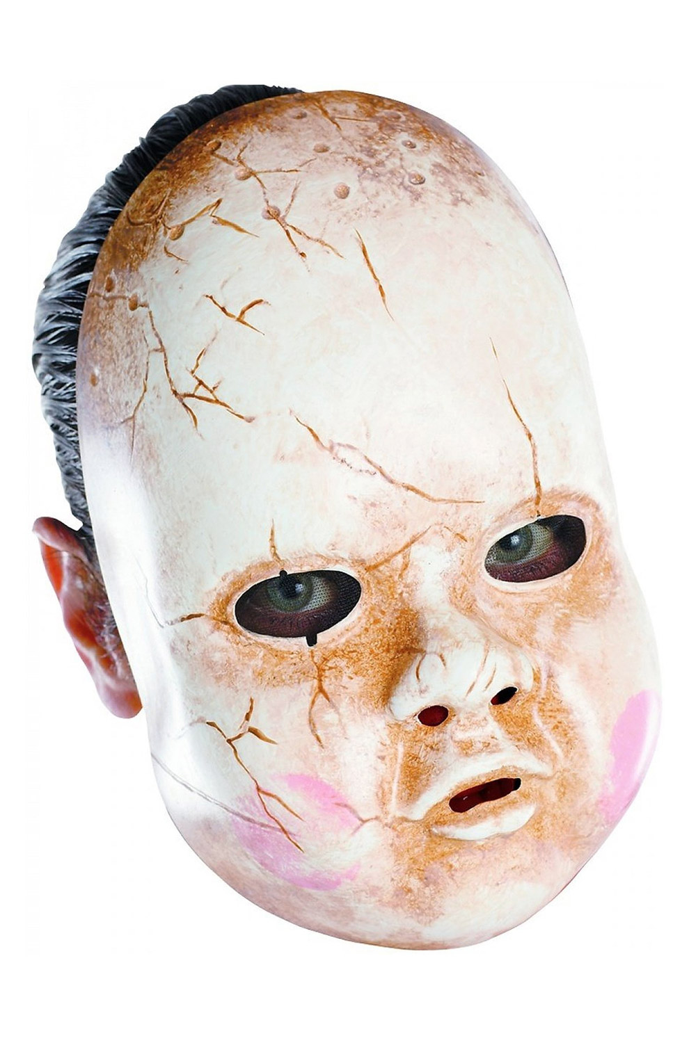 Scary Baby Doll Adult Vinyl Halloween Costume Accessory