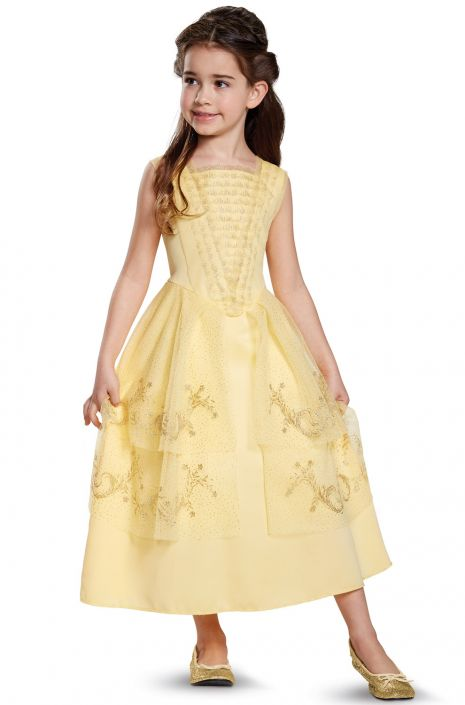 Belle Ball Gown Classic Toddler/Child Costume - PureCostumes.com