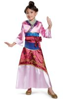 Mulan Deluxe Toddler/Child Costume