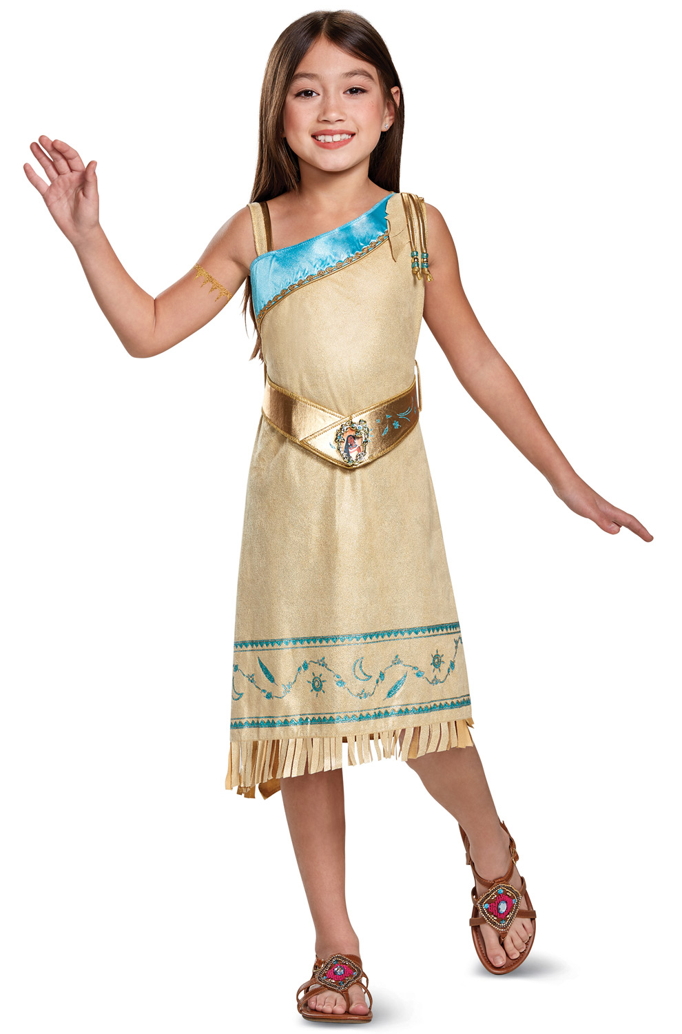 pocahontas deluxe toddler child costume. Black Bedroom Furniture Sets. Home Design Ideas